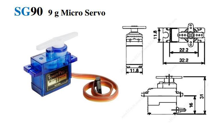マイクロサーボ9g SG-90