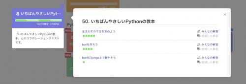 PyQ 進捗画面