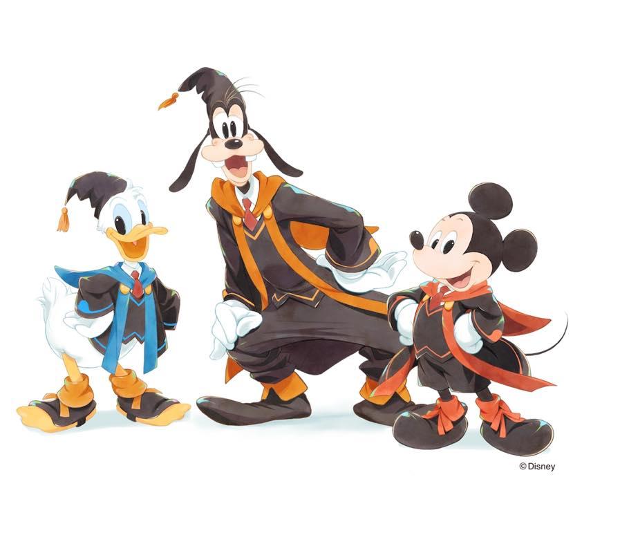 テクノロジア魔法学校 ディズニーのキャラクター